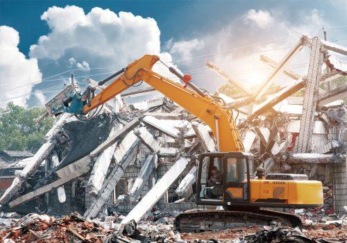 Демонтаж объектов любой сложности