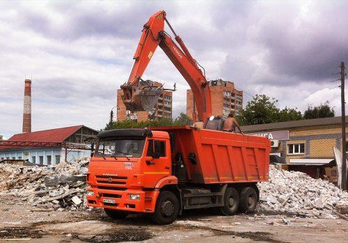 Вывоз любого строительного мусора